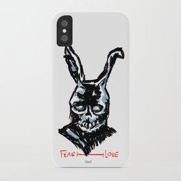 Donnie Darko: FEAR • FRANK • LOVE iPhone Case