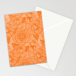 Marmalade Roses 2 Stationery Cards