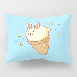 Bunny-lla Ice Cream Pillow Sham