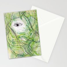 Mermaid Hair (1) Stationery Cards