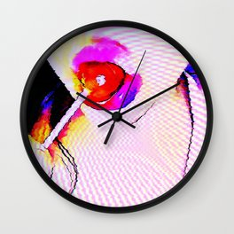 Cybernetic Sugar Wall Clock