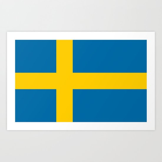 Flag of Sweden - Authentic (High Quality Image) by flags