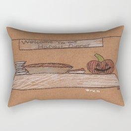 Thanksgiving Dessert Rectangular Pillow