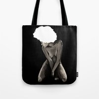 afro Tote Bags featuring Afro by Ilustrismo