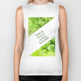 People who love to eat are always the best people Biker Tank