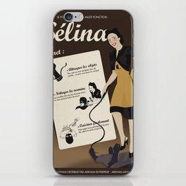 Sélina (version française) iPhone Skin