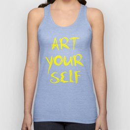 Art Your Self Unisex Tank Top