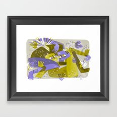One Flesh (by Pam Wishbow) Framed Art Print
