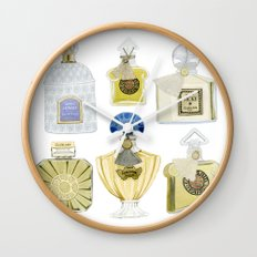 Guerlain Fragrances Wall Clock
