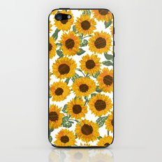 SUNNY DAYS -sunflowers- iPhone & iPod Skin