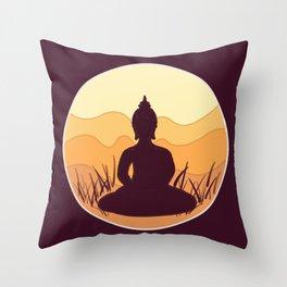 Buddha I Throw Pillow
