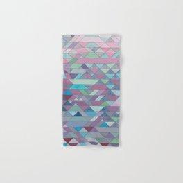 Triangle Pattern no.3 Violet Hand & Bath Towel