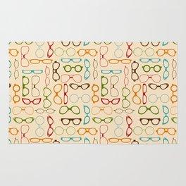 Retro glasses Rug