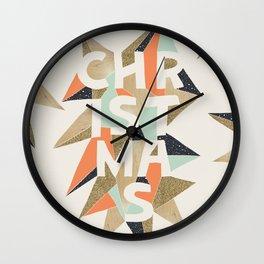 Christmas Sparkle Wall Clock