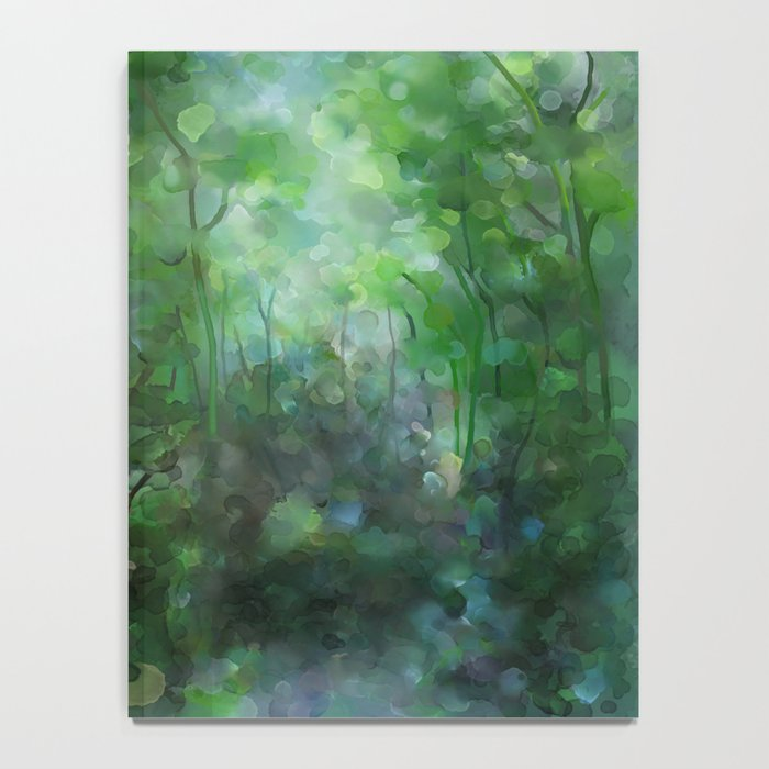 Watercolor forest Notebook