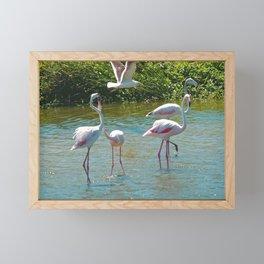 Lovers Framed Mini Art Print