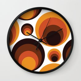 Back To The 70's Wall Clock