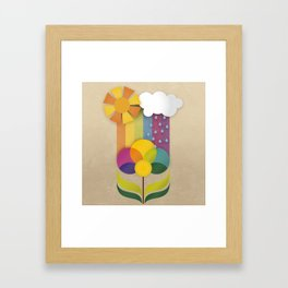 Daisy Showers Framed Art Print