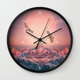 Find the Strength To Rise Up Wall Clock