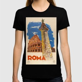 Roma Vintage Travel Poster T-shirt