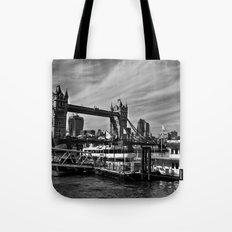 River Thames View Tote Bag