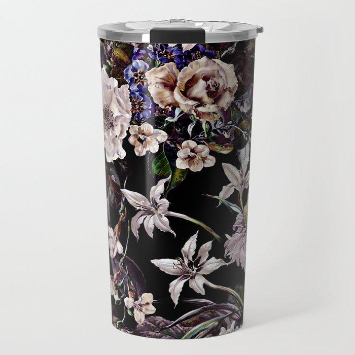 Midnight Garden VI Travel Mug