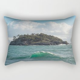 PORTRAIT OF SECRETARY ISLAND, BC TROPICS 2K16 Rectangular Pillow