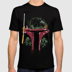 Boba Mens Fitted Tee LARGE Black