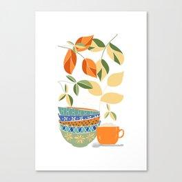 Happy Kitchen Canvas Print