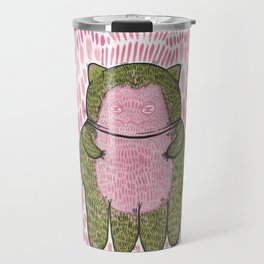 squidcat snorlax Travel Mug