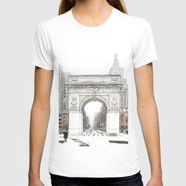 Washington Square Park Arch T-shirt