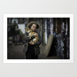 People of Shoreditch #1 Art Print