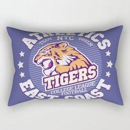 Angry Tiger Sport Rectangular Pillow