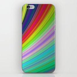 Rainbow Speed iPhone Skin