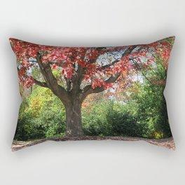 Autumn Ablaze Rectangular Pillow