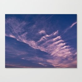 Clouds 14 Canvas Print
