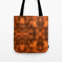 gold foil Tote Bags featuring Gold Foil Texture 6 by Robin Curtiss