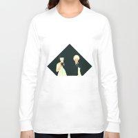 atlas Long Sleeve T-shirts featuring CLOUD ATLAS by Itxaso Beistegui Illustrations
