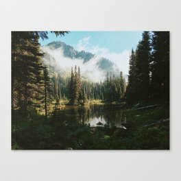 Quiet Washington Morning Canvas Print