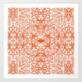 Lace variation 03 Art Print
