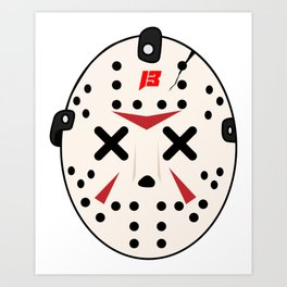 Jason X SAVAGE Art Print