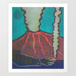 Don Vulcano Art Print