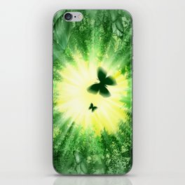 "The sun and the ""Butterfly - Effect""! iPhone Skin"