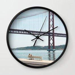 Jackie Lisbon Wall Clock