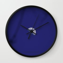 The Moon (Purple Moon Beams) - Jeronimo Rubio Photography 2016 (All Over) Wall Clock