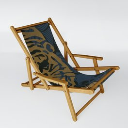 Golden Tiger Sling Chair