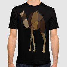 Camel Mens Fitted Tee MEDIUM Black