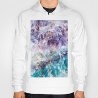 crystals Hoodies featuring crystals  by lokyic