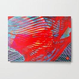 Fractalyte Metal Print