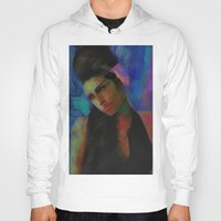 amy hamilton Hoodies featuring Amy by Darla Designs